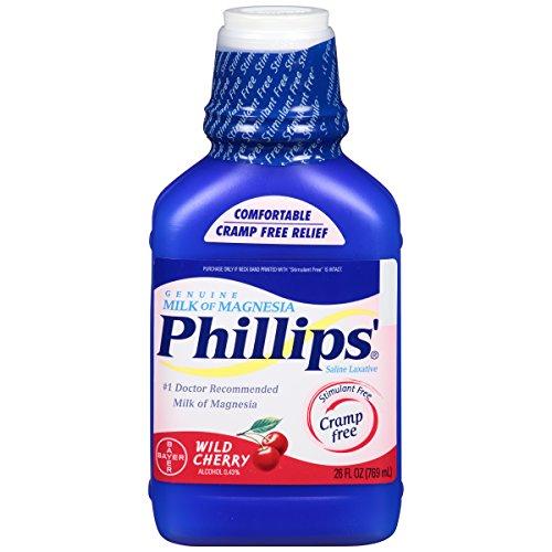 Филлипс Дикая вишня молоко магнезии жидкость, 26 унцию бутылки