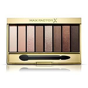 Max Factor Masterpiece Nude Palette Contouring Eye Shadows, 6.5 g, 1 Cappuccino Nudes
