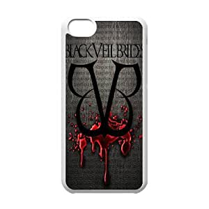 IPhone 5C Phone Case for BVB Classic theme Black Veil Brides pattern design GQCTBKVBS774020