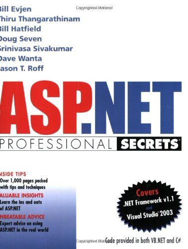 ASP.NET Professional Secrets by Wiley