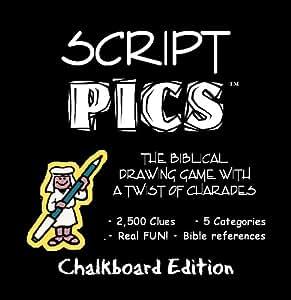 ScriptPICS ® Bible Drawing Game