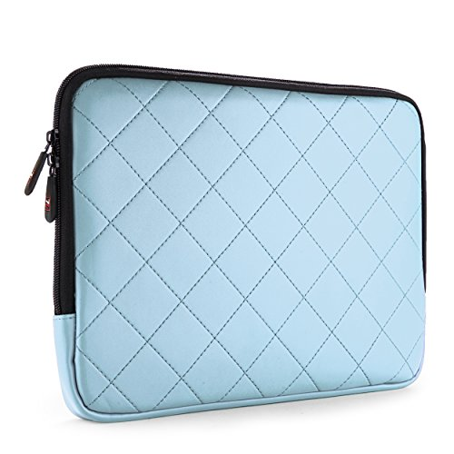 Carrying Laptop Case 12.1' (11'' 11.6'' 12'' 12.1'' Briefcase Bag Pouch Sleeve Case Samsung Galaxy Note/Tab Pro 12.2 / Microsoft Surface Pro 3 12 '' / Acer Iconia W700-6607 11.6 -Inch Tablet (Light Blue))