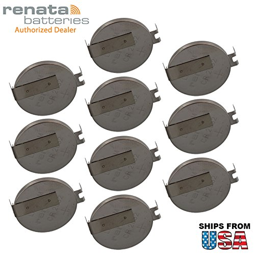 10x Renata CR2032FH2-MFR 3V Lithium Coin Battery HORZ 2-PIN for CMOS Motherboard Panasonic IBM 02K7063 ASM 02K7062 CR2032-3P ThinkPad R32 Series R31 CMOS CHECKSUM FAILURE BATTERY STATE LOW