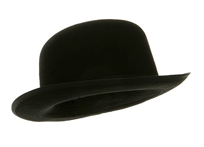 Amazon.com   Black Blended Wool Felt Derby Bowler Hat Large   Everything  Else 9f51d1b7e22