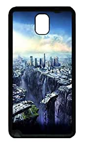Best Samsung Galaxy Note 3 Cases, Luxury Samsung Galaxy Note 3 Cases Post Apocalyptic Cityscape Designer TPU Soft Samsung Galaxy Note 3 Note III N9000 Case Cover - Black