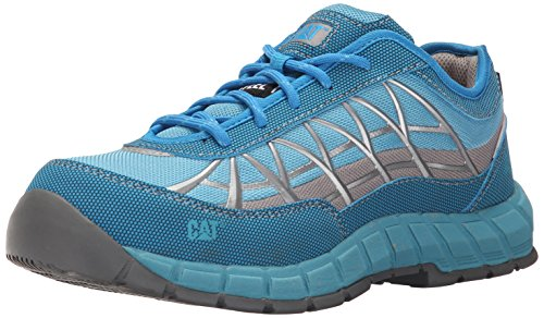 Women's Connexion Industrial Oxfordeel Toe, Vivid Blue, 8.5 W US by Caterpillar
