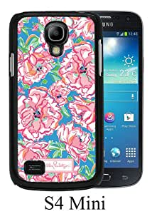 Beautiful And Unique Designed Case For Samsung Galaxy S4 Mini With Lilly Pulitzer 28 black Phone Case