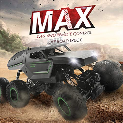 (Soosch Fast RC Cars,Six-wheel Drive Off-road Vehicle Truck Remote Control Car - High Speed Electric Remote Control)