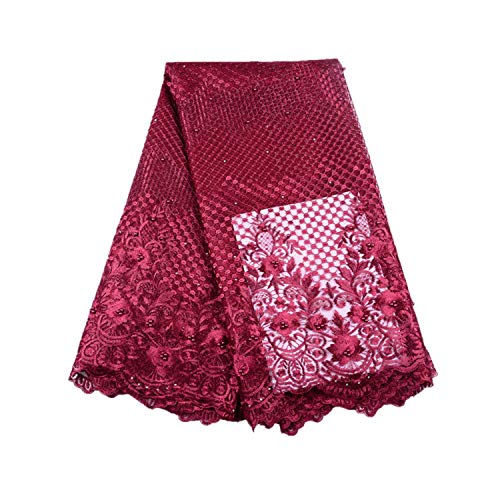 Onion Color French Lace Fabrics African Lace Fabric Embroidery Lace Fabric Lace for Wedding,As Picture5