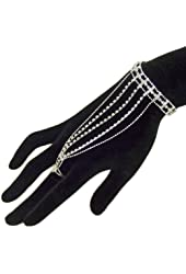 Elegant Sexy Slave Bracelet Belly Dance Dancer Bridal with Ring