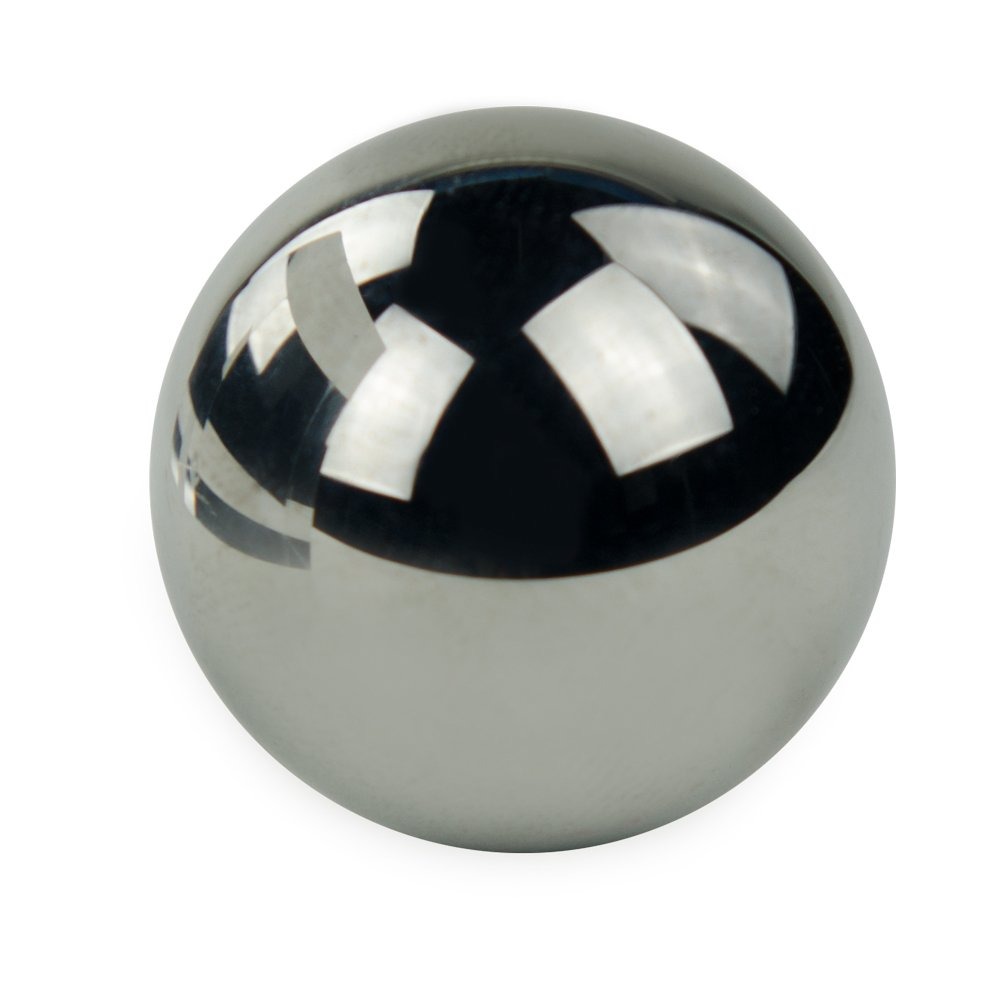 1/2'' Tungsten Carbide Metal Ball for Valves (1 Ball) by Hoover Precision Products
