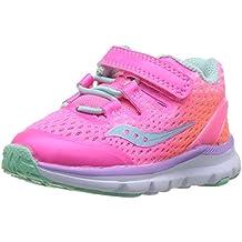 Saucony Kids' Girls Baby Freedom Iso Sneaker