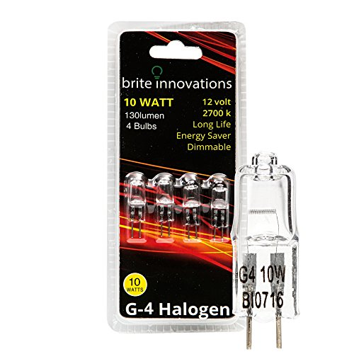 Brite Innovations G4 Halogen Bulb, 10 Watt