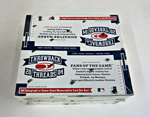 (2004 Donruss Throwback Threads Baseball Box (Retail))