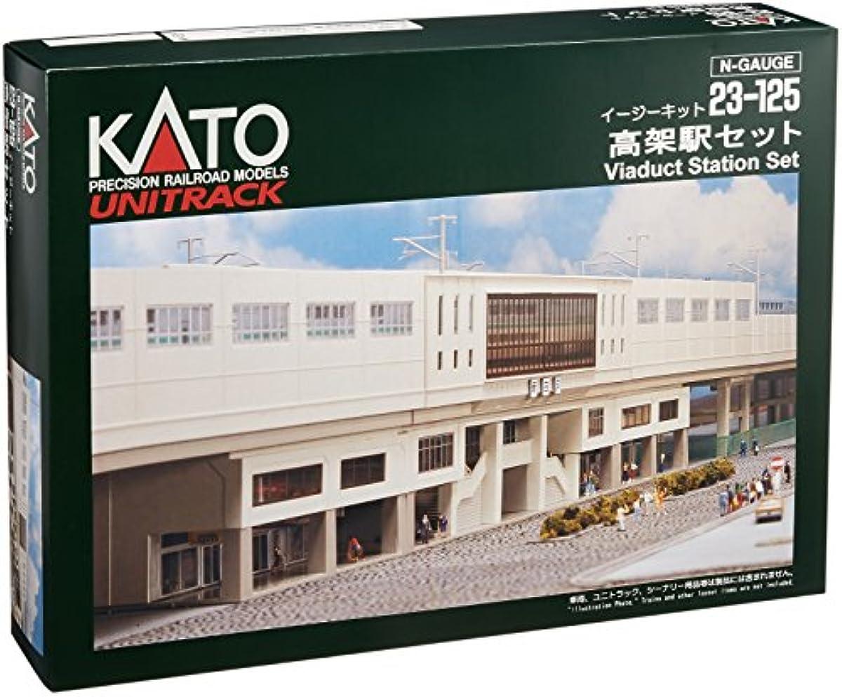 [해외] KATO N게이지 고가역 세트 23-125 철도 모형 용품