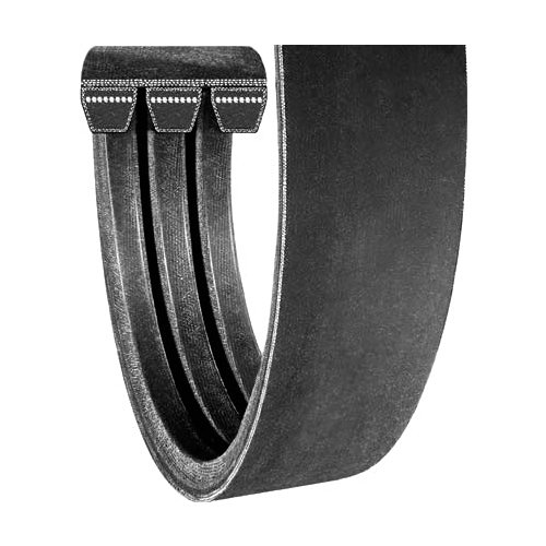 237.5 Length 1 Width 7//8 Thickness 237.5 Length CARLISLE R8VK2360-4 Rubber Power-Wedge Aramax Band Cord Banded Belt 1 Width 4 Bands 7//8 Thickness
