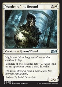 Magic: the Gathering - Warden of the Beyond - Magic 2015