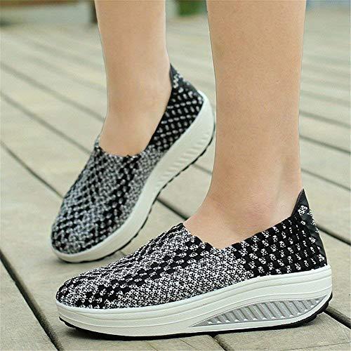 Eu Tessuto Fondo Le Scarpe Con Spesso Traspiranti 35 Pigri Shoes Donne Casual 's Deed ORwfTHqw