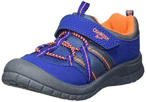 OshKosh B'Gosh Boys' Lazer Bumptoe Athletic Sneaker, Grey, 9 M US Toddler (Sneakers Shoes Kids Toddlers)