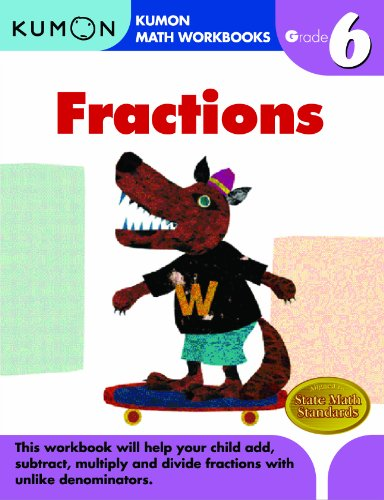 Grade 6 Fractions (Kumon Math Workbooks)