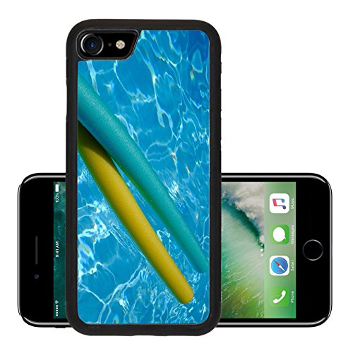 Luxlady Premium Apple iPhone 7 Aluminum Backplate Bumper Snap Case iPhone7 IMAGE ID 27572195 yellow and blue noodles in swimming pool (Pool Noodle Ideas)
