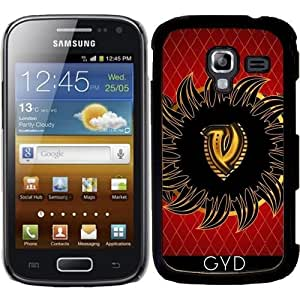 Funda para Samsung Galaxy Ace 2 (GT-I8160) - Monograma Del Diseño Del V by nicky2342