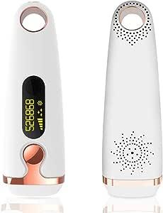 Symeas 500000 Flashes Depiladora láser IPL Flashes indoloros Cuerpo facial Afeitadora depilatoria profesional ...