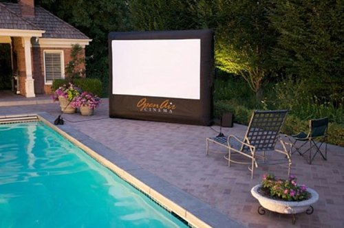 Open Air Cinema 9' Open Air Inflatable Home Screen