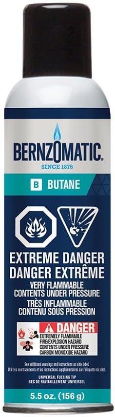 VALUE 2 PK BernzOmatic REFILLABLE BUTANE UTILITY LIGHTERS HEAVY DUTY  BNIP