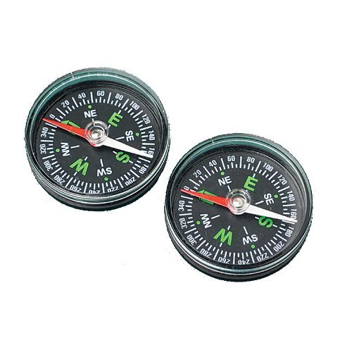 Magnetic Pirate Compass : Package of 12