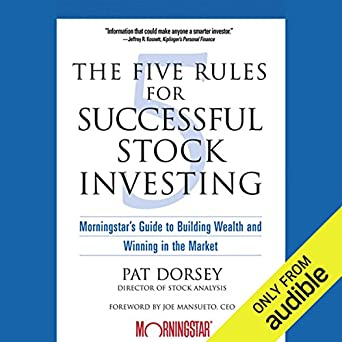 the five rules successful stock investing
