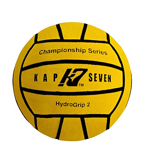 KAP7 Size 2 HydroGrip Water Polo Ball (10U) (Yellow)