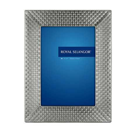 Royal Selangor Hand Finished Mirage Collection Pewter Wave Photo Frame (8R) by Royal Selangor