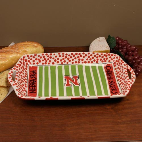 University of Nebraska Stadium Platter ()