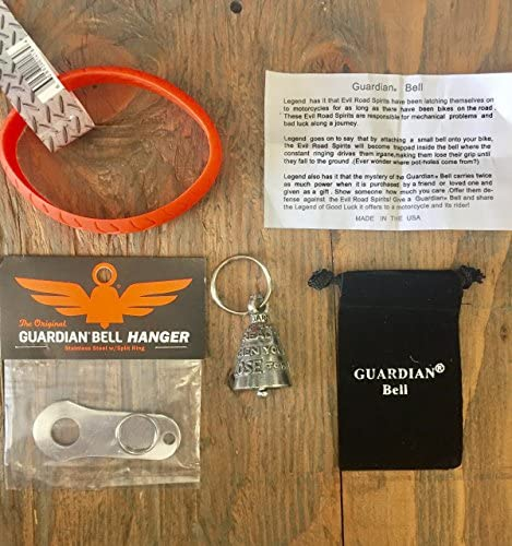 Guardian® Bell IF YOU CAN READ THIS COMPLETE KIT W/ハンガー & リストバンド