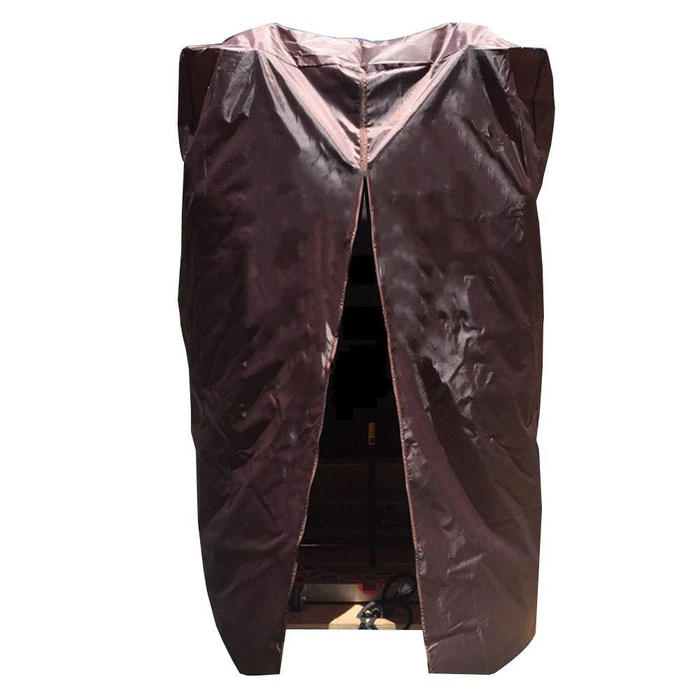 argent 90X75X145CM GZW001 Tissu Oxford lavé avec Prougeection Anti-poussière et Tapis de Prougeection Anti-poussière, 2 Couleurs, 2 Styles