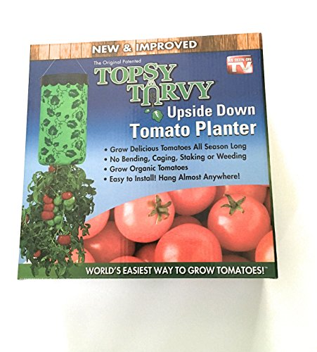 Topsy Turvy New & Improved Upside Down Tomato Planter - (Grow Beefsteak Tomatoes)