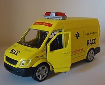 De esJuguetes Juegos RaccAmazon Metal Ambulancia Coche Y m0vn8Nw