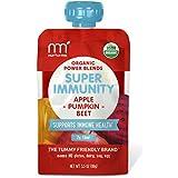 NurturMe Power Blends Organic Baby Food Pouch, Apple + Pumpkin + Beet, 3.5 Ounce (Pack of 6)