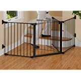 KidCo Auto-Close Configure Gate, Black