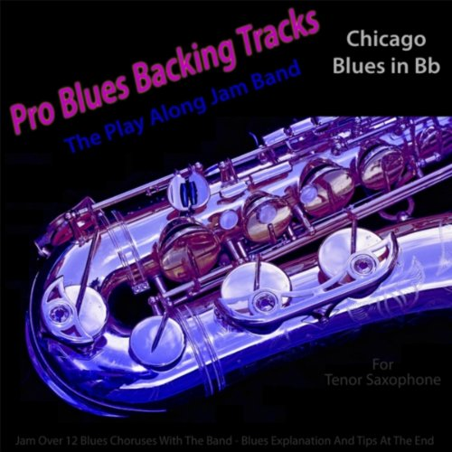 Pro Blues Backing Tracks (Chicago Blues in Bb) [For Tenor Saxophone] Recording Backing Tracks