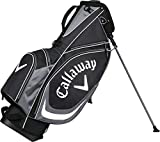 Callaway 2017 X-Carry Stand Bag (Black/White, One Size)