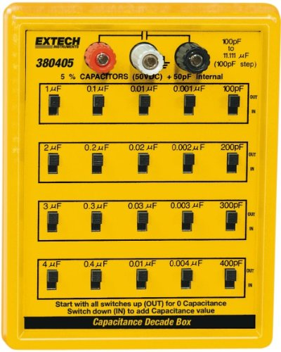 Extech 380405 Capacitance Substitution Box ()