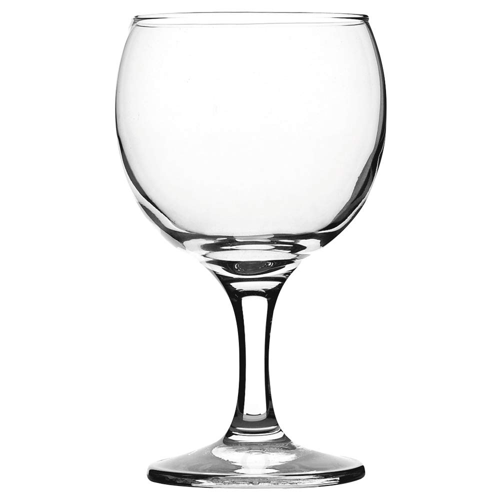 Paris Wine Glasses 8.75oz / 250ml - Set of 12 - Commercial Catering Banquet Wine Glasses