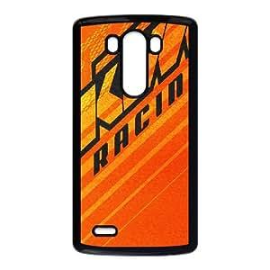 LG G3 Cell Phone Case Black Ktm Racing Logo Custom Case Cover A11A563292