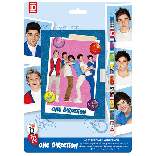 1D Diary with Lock (One Direction Official Diary)