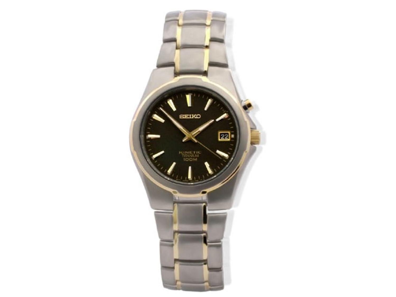 seiko mens titanium kinetic ska495p1 amazon co uk watches seiko mens full titanium kinetic watch