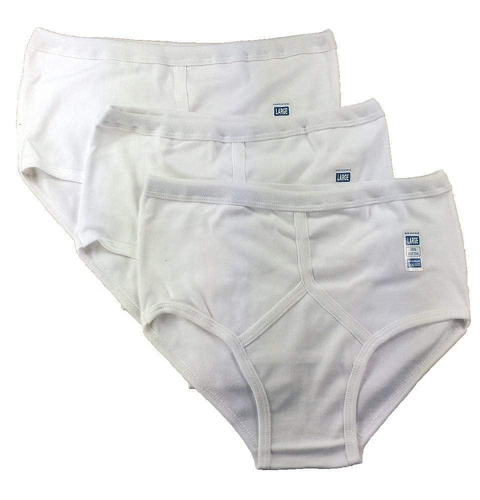 Markhore Boys Kids Cotton 6 Briefs White Underwear Pants Briefs Kids Underpants y Fronts White