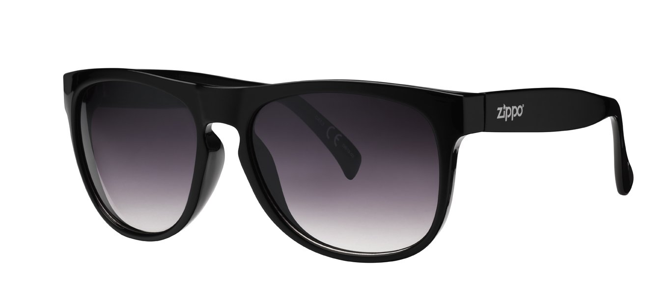 Zippo Gradient Smoke Flash Mirror Lens Gafas de Sol, Unisex, Negro, Medium: Amazon.es: Deportes y aire libre
