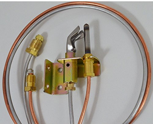 KUANG PIL-51001 Water Heater Pilot Assembly includes pilot thermocouple & tubing natural gas NG